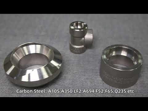 3000 LB Stainless Steel Female NPT Threaded Half Coupling