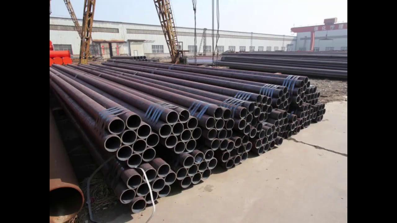 Api 5l Gr B X52 X56 X60 Smls Carbon Seamless Steel Pipe