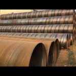 Astm A252 Ssaw Diameter Carbon Steel Spiral Seam Welding Line Pipe