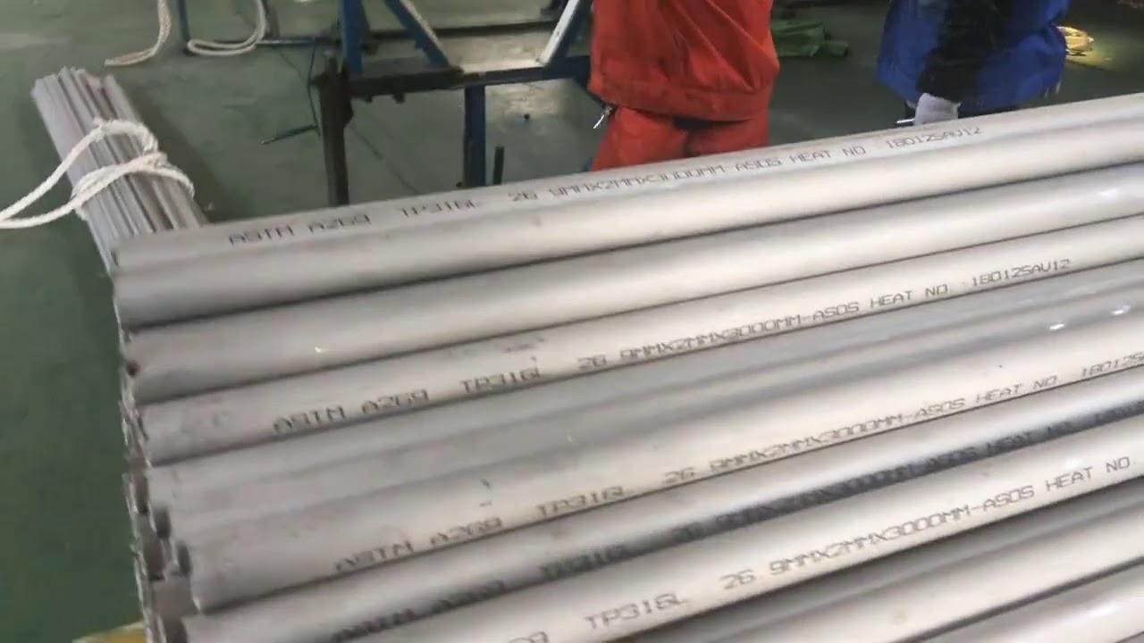 Food Grade En 1.4404 316 Duplex Stainless Steel Pipe Tube Price