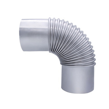 28 Inch 30mm Stainless Steel Mirror Sanitary Short Radius Flexible Pipe Fitting 45 Degree Elbows