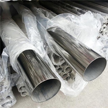 ASTM En GB SUS Ss 304 Stainless Steel Pipe for Chemical Production Equipment