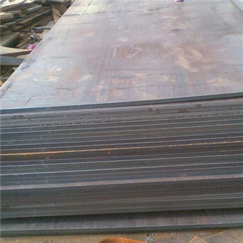6mm 8mm Galvanized Steel Sheet