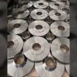 Sanitary Stainless Steel Orifice Raised Face Welding Neck Flange Wn RF Flanges